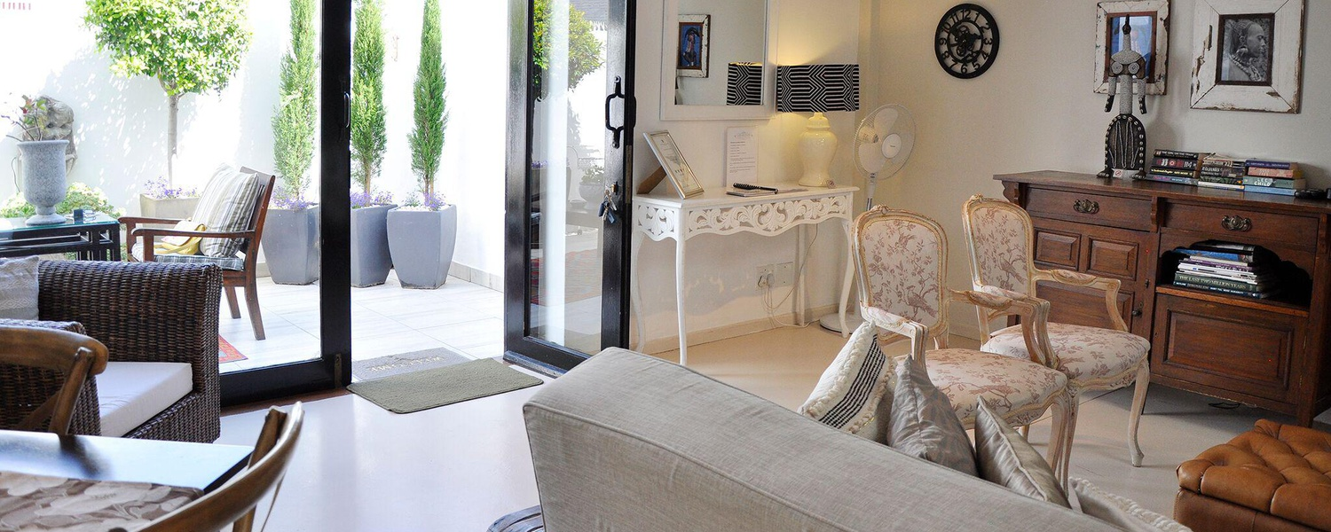 Make yourself at home in Franschhoek